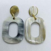 Organic Horn earrings