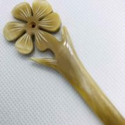 Nature Buffalo Horn Hair Stick, Hairstick