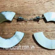 Horn and lacquer jewelry