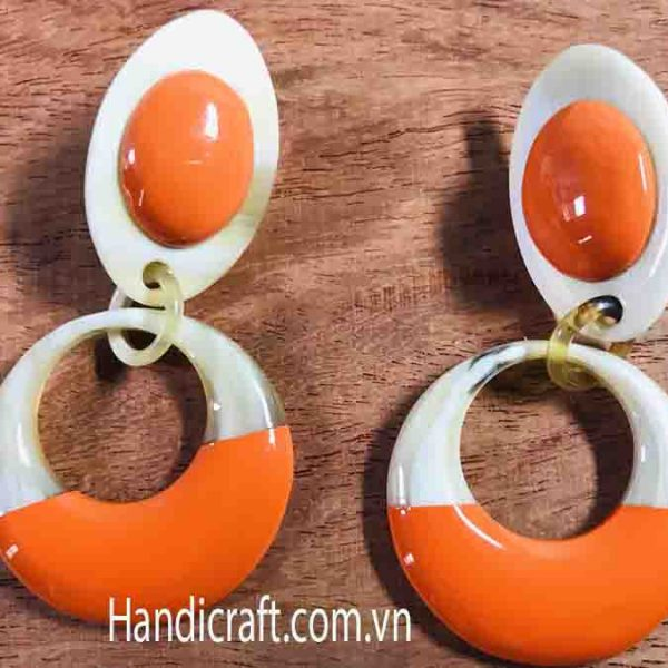 Horn lacquer Earrings