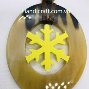 Nature horn Pendant H00056