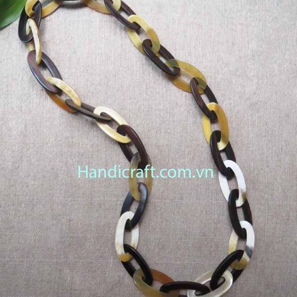 Horn nature color Necklace