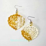 Organic Horn Earrings, Beautiful earrings