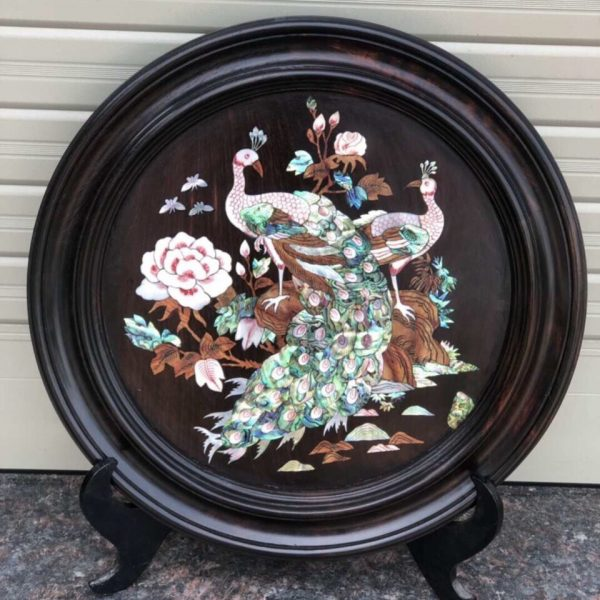 Inlaid wood pictures
