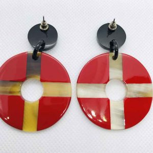Beatiful horn Earrings
