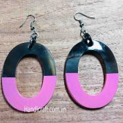 hermes lacquer earrings