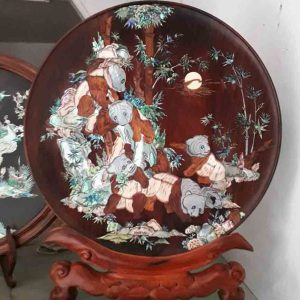 Vietnamese wall art mother of Pearl