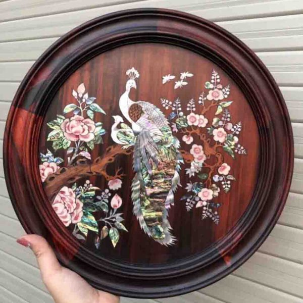 Handmade Picture from mother of pearl