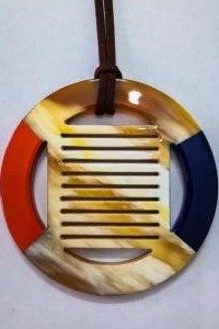 Horn lacquer pendant, items made in vietnam